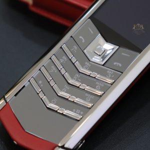 Vertu Signature S Red Calf Nhu Moi Full Box 5