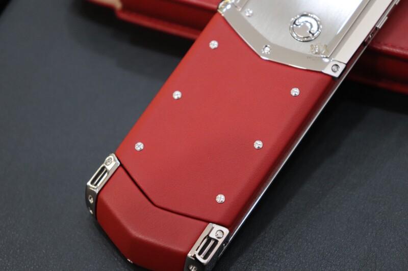 Vertu Signature S Red Calf Nhu Moi Full Box 6