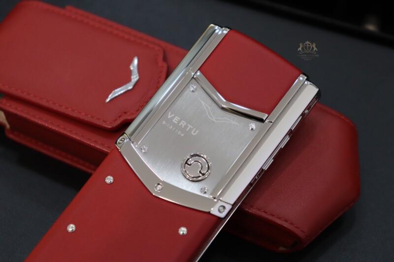 Vertu Signature S Red Calf Nhu Moi Full Box 8